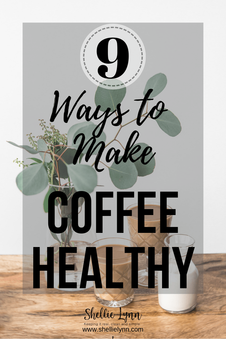 healthy coffee ideas