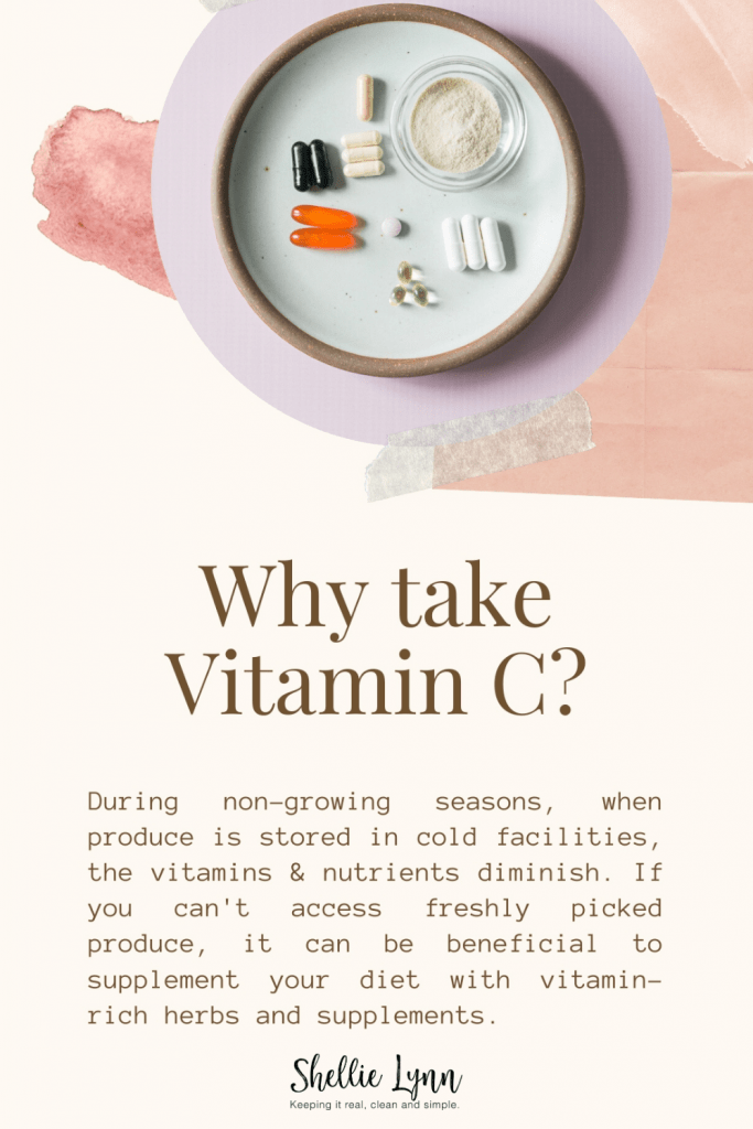 Vitamin C to stay healthy during cold and flu season