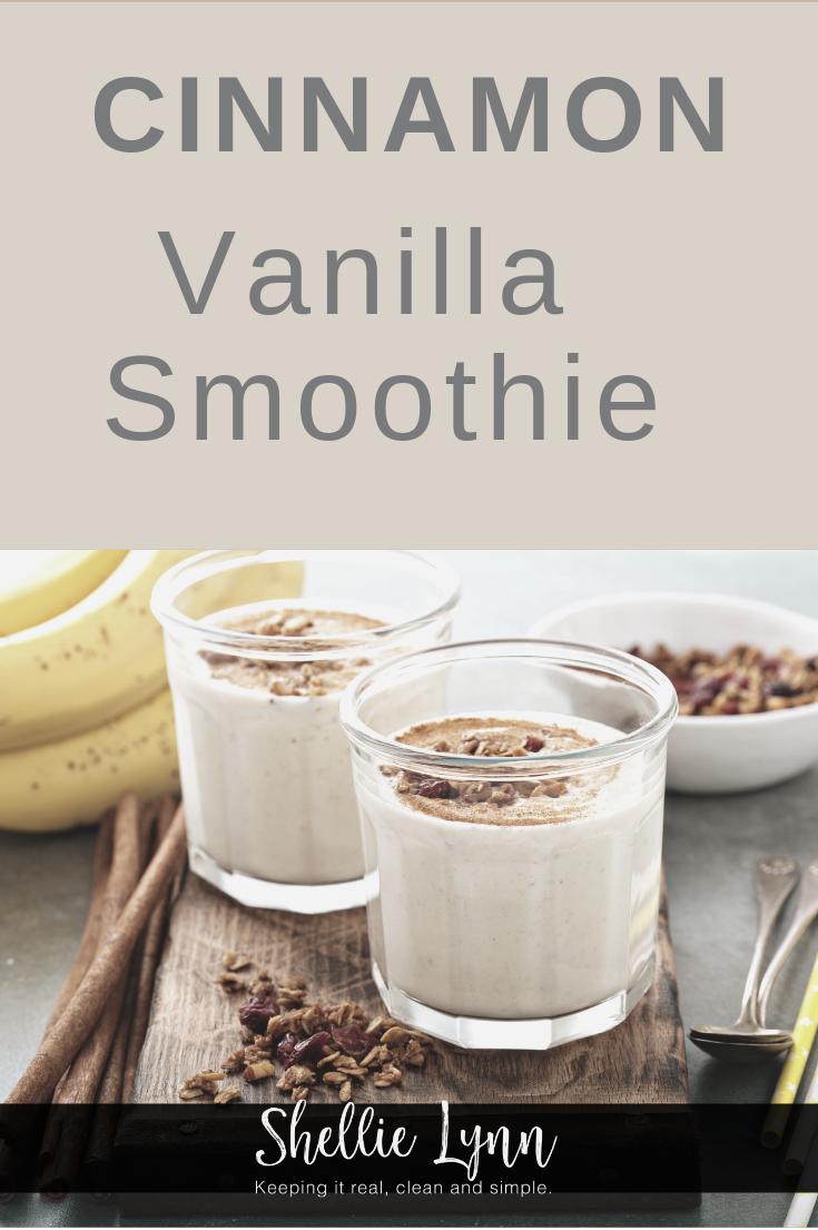 Cinnamon Vanilla Smoothie