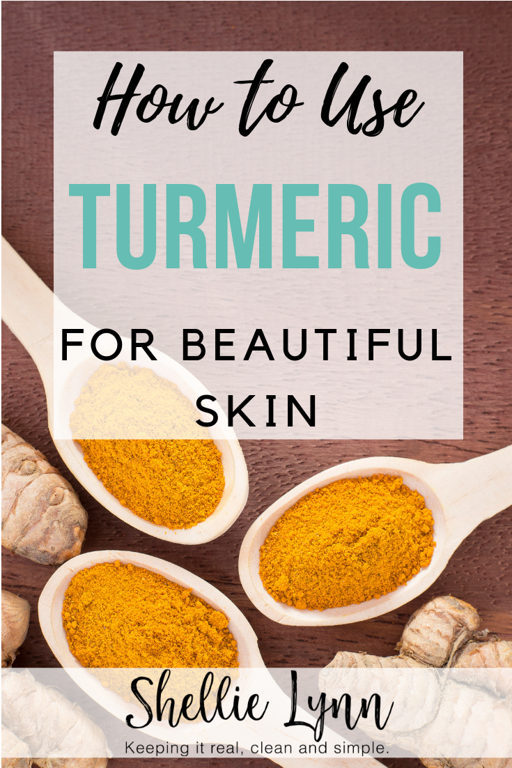 Benefits of using turmeric for skincare