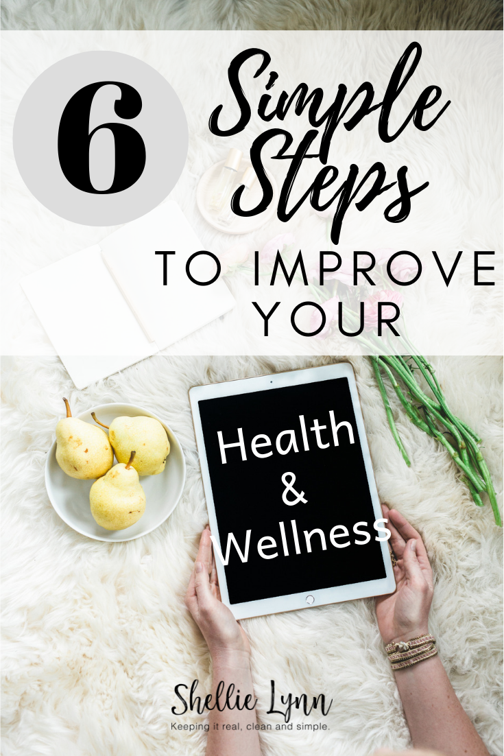 ways to improve your health and wellness