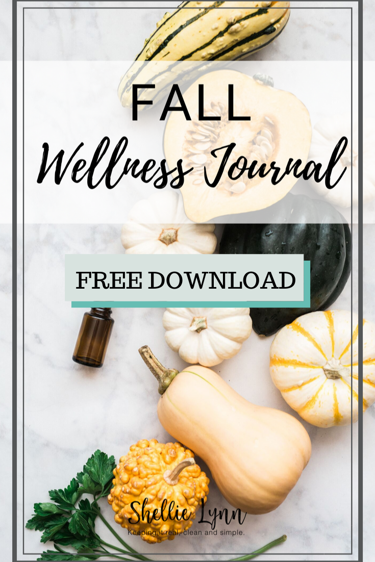 Fall Wellness Journal