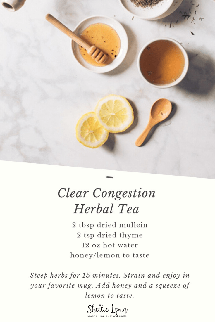 clear congestion herbal tea