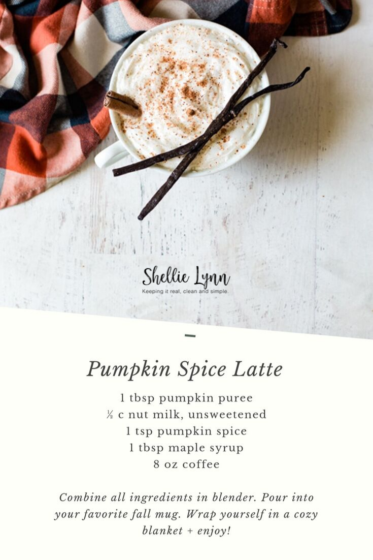 Healthy Pumpkin Spiced Latte Recipe