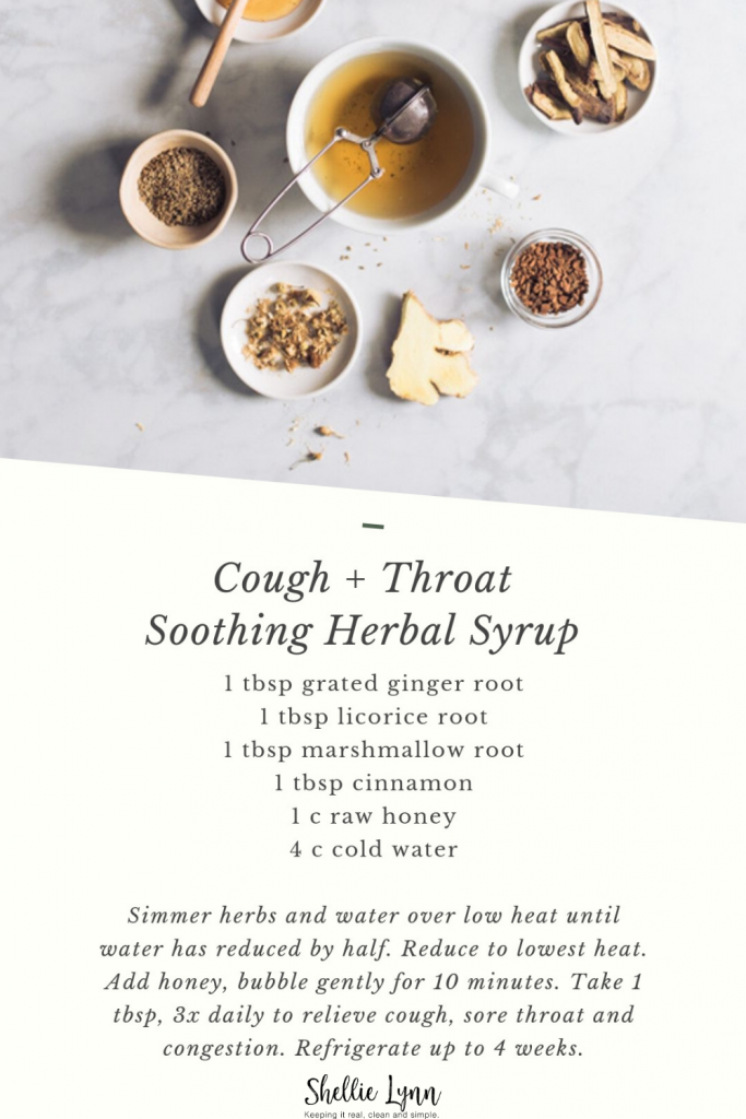 Cold Relief Herbal Syrup