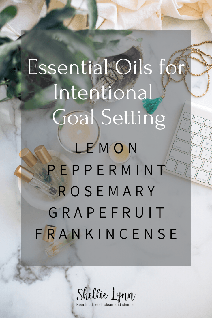 essential oils fo goal setting