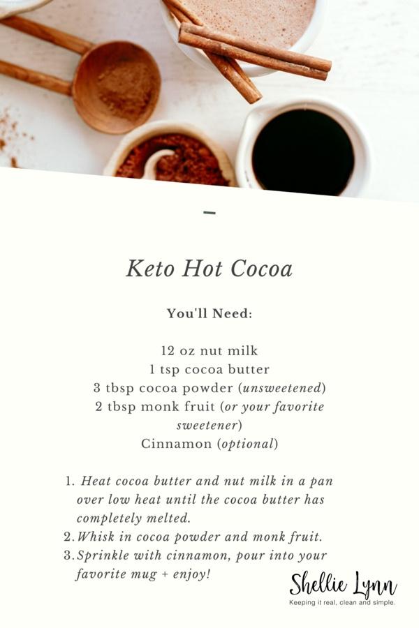Healthy Keto Hot Cocoa Recipe