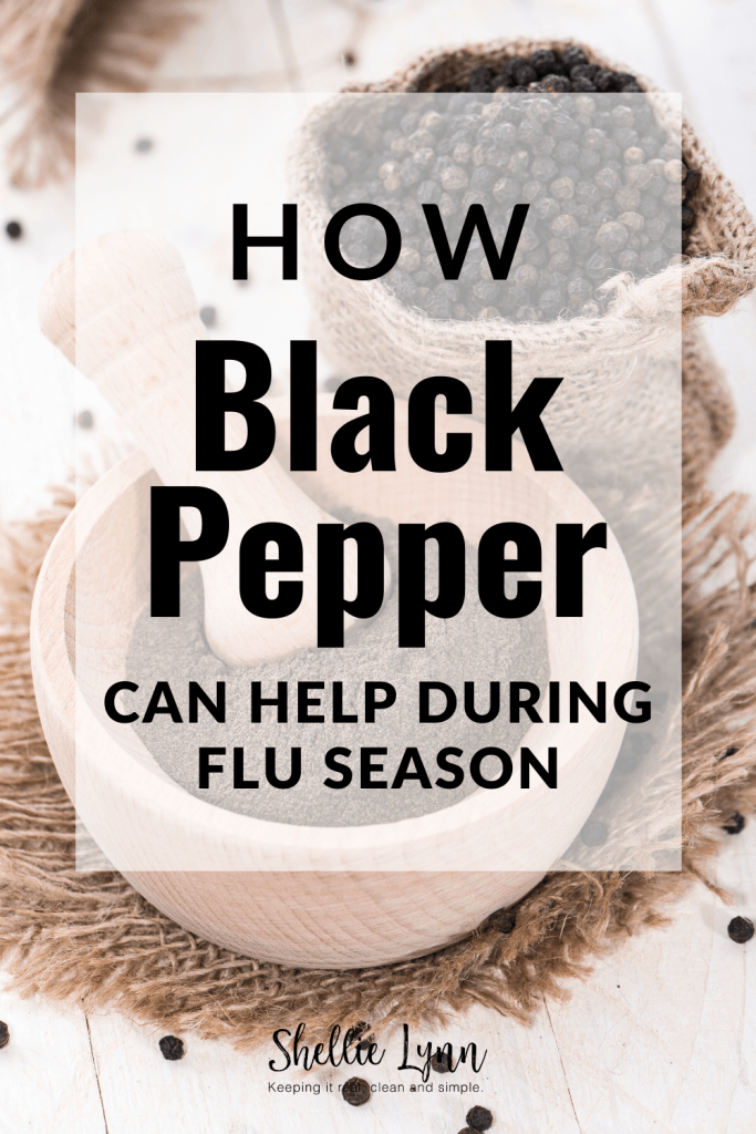 How black pepper can help during flu season