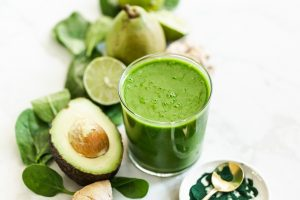 Metabolism boosting green smoothie