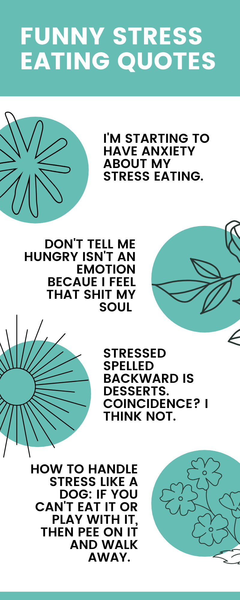 Funny Quotes About Stress Eating