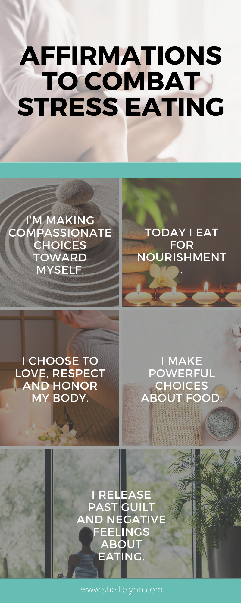 Affirmations to Combat Stress Eating