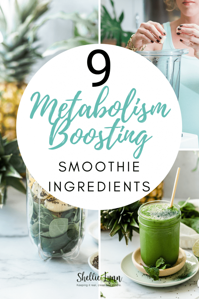9 Metabolism Boosting Smoothie Ingredients