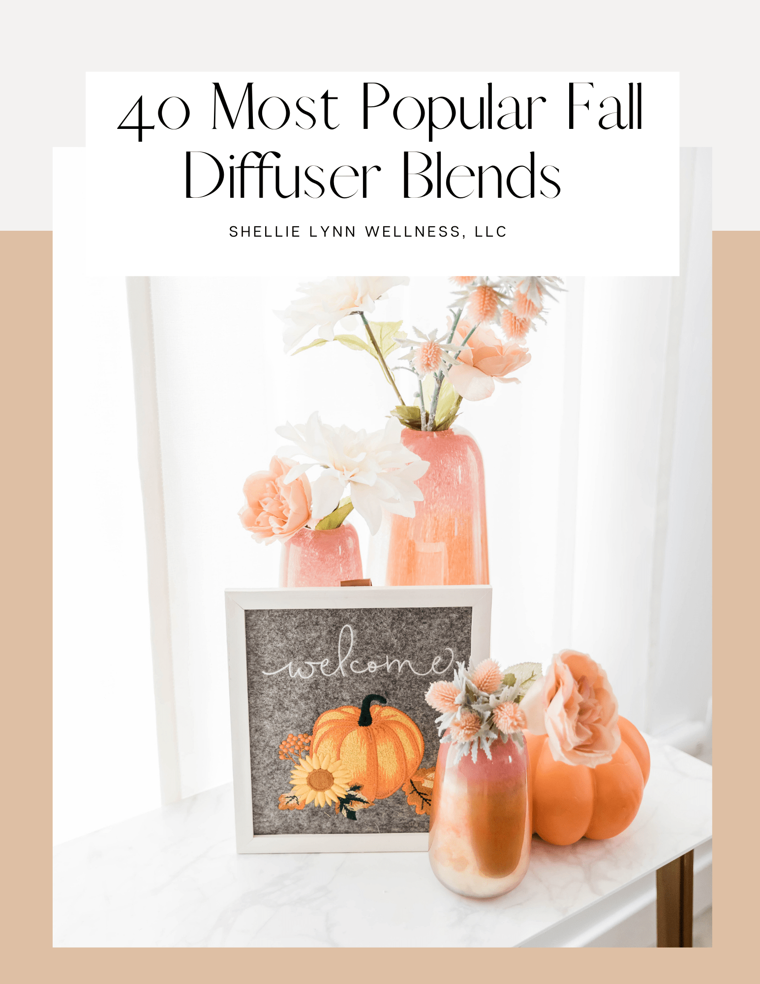 4o Most Popular Fall Diffuser Blends