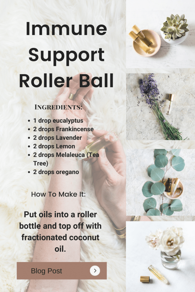 Immune Support Roller Ball Recipe