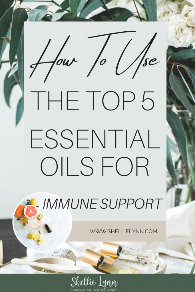 Top 5 Essential Oils for Immune Support