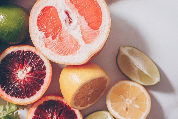 citrus fruit for detoxification