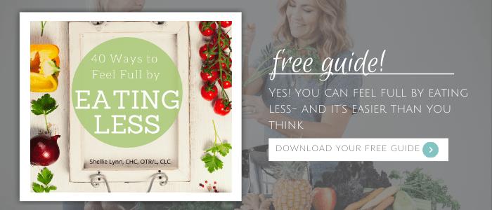 Feel Full by Eating Less