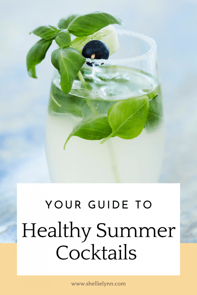Healthy Summer Cocktails Guide